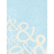 Summer Day- Ampersand Journal Card