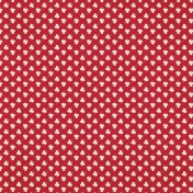 Picnic Day- Red Floral Paper