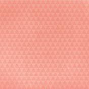 Picnic Day- Peach Triangle Paper