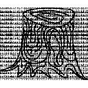 Tree Doodle Template 014