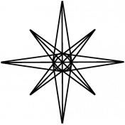 Star Doodle Template 012