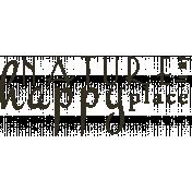 Word Art Template 102