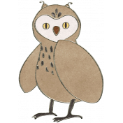 Back To Nature- Owl Doodle