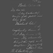 Back To Nature- Handwriting Chalk Stamp