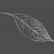 Back To Nature- Leaf Chalk Stamp 3