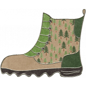 Back To Nature- Boot Doodle