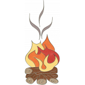 Back To Nature - Fire Doodle