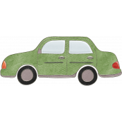 Back To Nature- Green Car