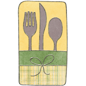 Back To Nature- Silverware Doodle