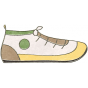 Back To Nature- Shoe Doodle