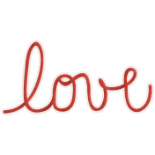 Back To Nature- Love Word Art Doodle