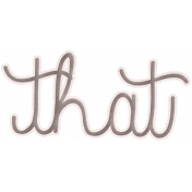 Back To Nature- That Word Art Doodle