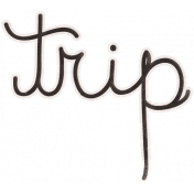 Back To Nature- Trip Word Art Doodle