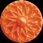 Back To Nature- Orange Button 2