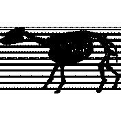 Skeleton Stamp Template 010