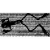 Skeleton Stamp Template 013