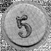 Bingo Chip Template 002