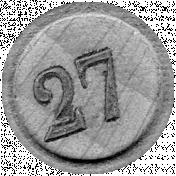 Bingo Chip Template 003