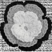 Crochet Flower Template 009