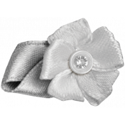 Ribbon Flower Template 016
