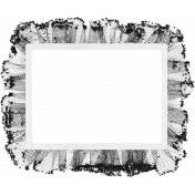 Vintage Paper Frame Template 012