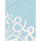 Back To Nature- Ampersand Journal Card