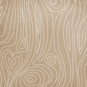 Back to Nature- Wood Doodle Pattern Paper