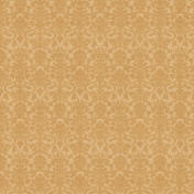 At The Table Mini- Gold Damask Paper