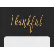 At The Table Mini- Thankful Journal Card