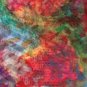 School of Art- Painted Paper