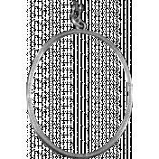 Metal Frame Template 022
