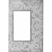 Paper Frame Template 035