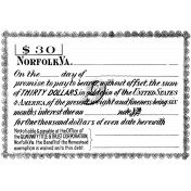 Office Stamp Template 009