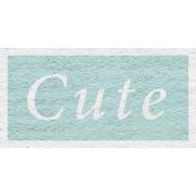 Enchanting Autumn- Cute Word Art