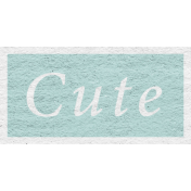 Enchanting Autumn Snippet Kit- Cute Word Art