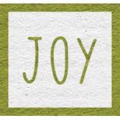 Enchanting Autumn Snippet Kit- Joy Word Art