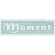 Enchanting Autumn- Moment Word Art