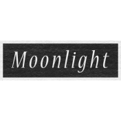 Enchanting Autumn- Moonlight Word Art