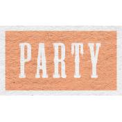 Enchanting Autumn- Party Word Art