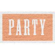 Enchanting Autumn Snippet Kit- Party Word Art