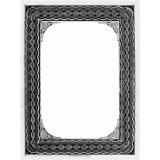 Paper Frame Template 010