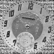 Clock Face Template 004