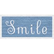Enchanting Autumn Snippet Kit- Smile Word Art