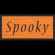 Enchanting Autumn- Spooky Word Art