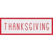 Enchanting Autumn- Thanksgiving Word Art