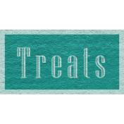 Enchanting Autumn Snippet Kit- Treats Word Art