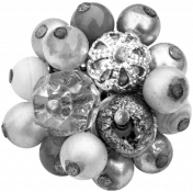 Beaded Cluster Template 004