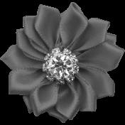 Ribbon Flower Template 019