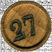Chills & Thrills Mini 2- Bingo Chip 27