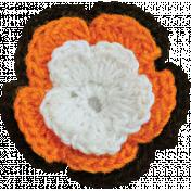 Chills & Thrills Mini 2- Crochet Flower
